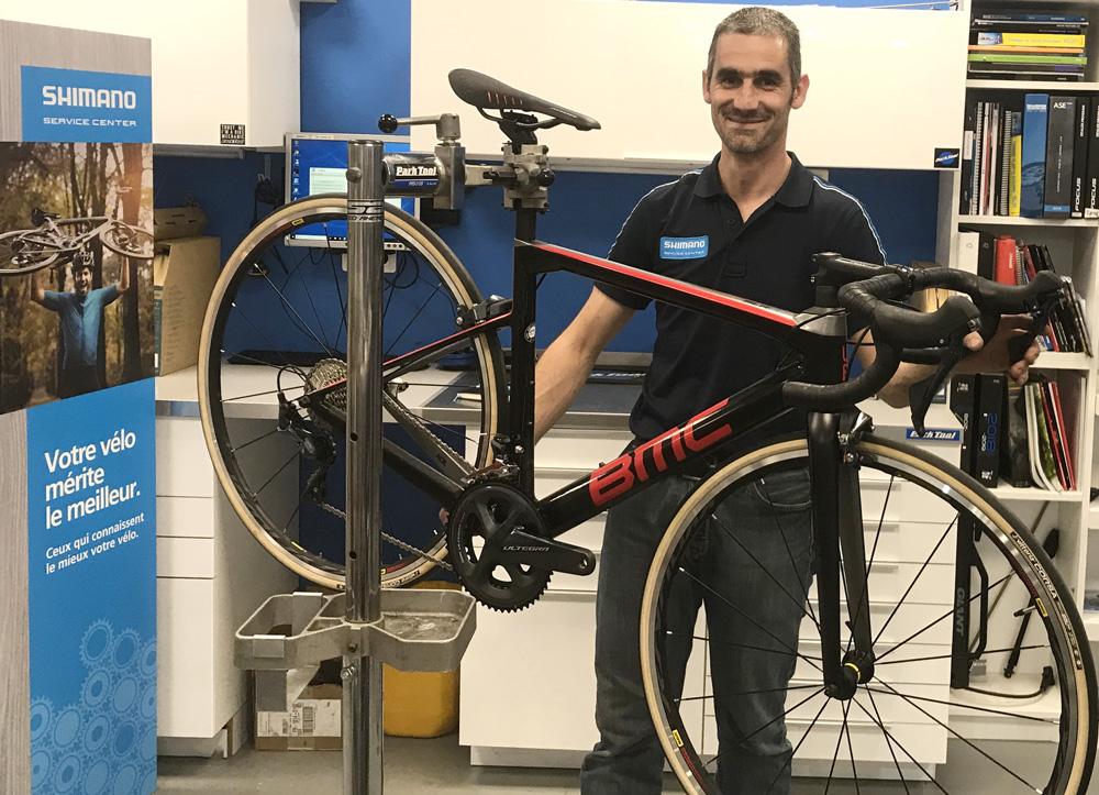 Réparation entretien vélo Shimano Service Center