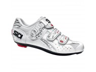 Chaussures Route Femme SIDI Genius 5 Fit Carbon Blanc verni