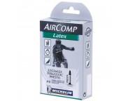 Chambre à air Route MICHELIN AirComp Latex 700x22 à 23 Presta 60mm