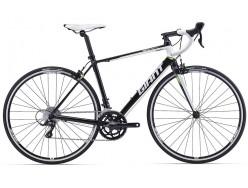 Vélo de course GIANT Defy 3 Noir Blanc Vert