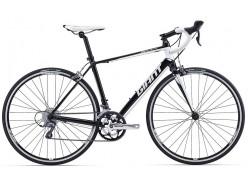 Vélo de course GIANT Defy 5 Noir Blanc