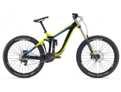 VTT GIANT Glory Advanced 27.5 1 Noir Jaune Bleu