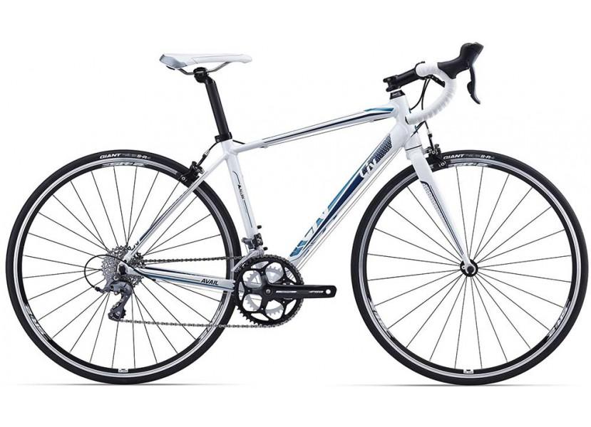 Vélo de course LIV Avail 4 Blanc Bleu