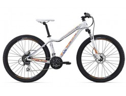 VTT LIV Tempt 27.5 4 Blanc Orange