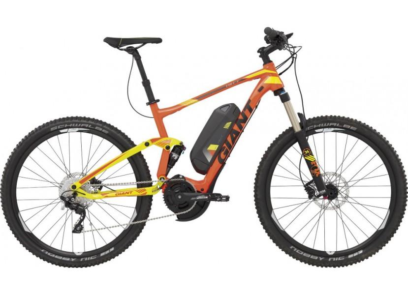 performance sportswear stable quality usa cheap sale VTT électrique GIANT Full E+ 1 Orange