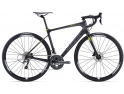 Vélo de course GIANT Defy Advanced 3 Noir Jaune