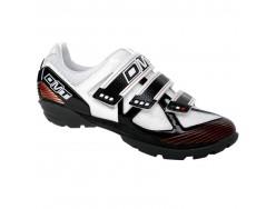Chaussures VTT DMT Country 2.0 Blanc Noir et Rouge