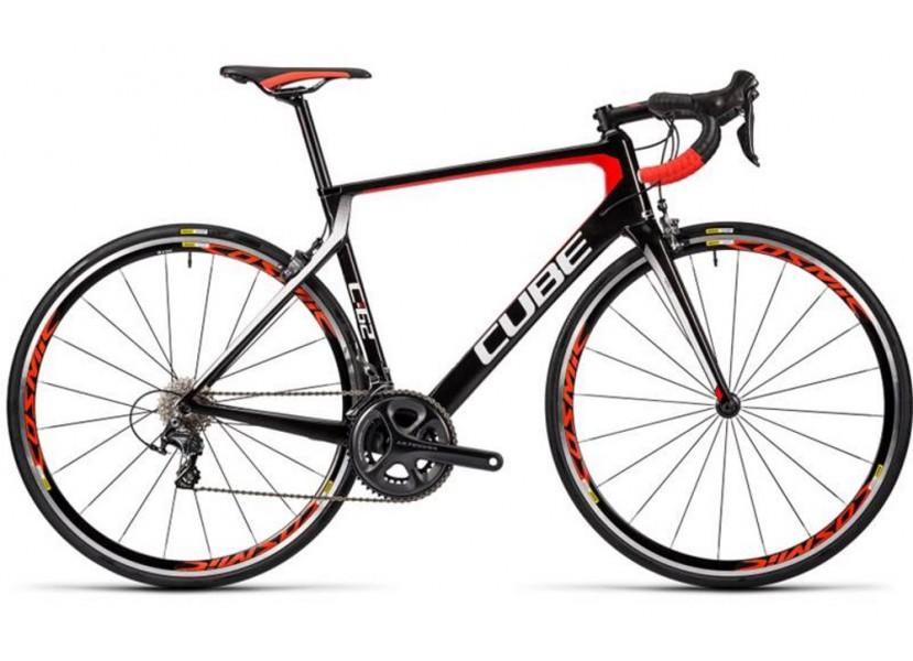 16dd9ecd14e9f5 Vélo de course CUBE Agree C62 Pro Noir Rouge