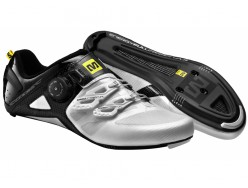 Chaussures Route MAVIC Cosmic Ultimate Blanche Noir