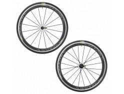 Paire de roues MAVIC Cosmic Pro Carbone Black 23