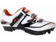 Chaussures VTT DMT Krypton 2.0 Blanc Noir Rouge