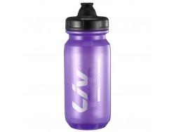 Bidon LIV Cleanspring Transparent Violet Argent 600ml