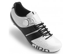 Chaussures Route GIRO Factor Techlace Blanc Noir