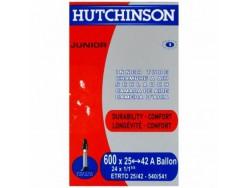 Chambre à air HUTCHINSON Junior Standard 600 x 25 à 42 A ballon Presta