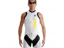 Maillot ASSOS nS.superLeggera Yellow Volt - Sans manches
