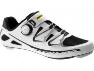 Chaussures MAVIC Ksyrium Ultimate II Blanc Noir