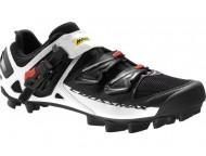 Chaussures VTT MAVIC Crossmax SL Pro Noir Blanc Rouge