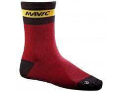 Chaussettes MAVIC Ksyrium Merino Sock Rouge