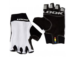 Gants Courts Route LOOK Road Race 2 Blanc