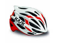 Casque Route KASK Mojito Blanc Rouge
