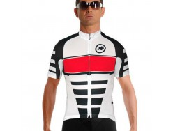 Maillot ASSOS SS.corporate_s7 Rouge Suisse