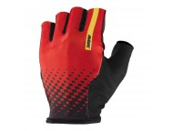 Gants Courts Route MAVIC Cosmic Rouge