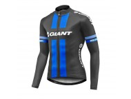 Maillot GIANT ML Race Day Standard Noir Bleu