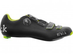 Chaussures Route FIZIK R4 Carbon BOA Black Yellow Fluo