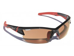 Lunettes AZR Kromic Amstel RX Noir verni Orange Photochromic