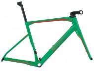Cadre Course BMC Roadmachine RM01 Vert Rouge