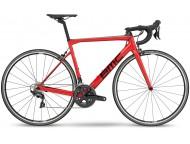 Vélo de course BMC Teammachine SLR01 Three Rouge Noir Gris