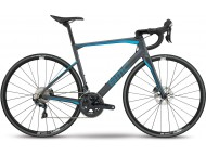 Vélo de course BMC Roadmachine RM01 Four Gris Bleu