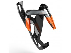Porte bidon ELITE Custom Race+ Noir brillant Orange graphic