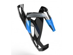 Porte bidon ELITE Custom Race+ Noir brillant Bleu graphic