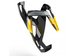 Porte bidon ELITE Custom Race+ Noir Brillant Jaune graphic