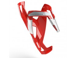 Porte bidon ELITE Custom Race+ Rouge brillant Blanc graphic