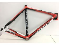 Cadre Cyclo cross Route FOCUS Mares CX Disc Noir Blanc Rouge