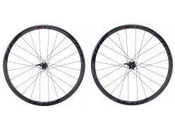 Paire de roues Route ZIPP 202 Carbon Clincher Disc Black