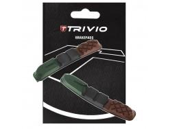 Patins de frein VTT TRIVIO Cartridge VTT 955 72mm Triple
