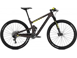VTT FOCUS O1E Factory 29 Marron Jaune fluo