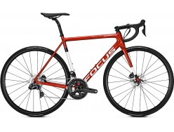 Vélo de course FOCUS Izalco Max Disc Ultegra Di2 Rouge