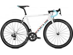 Vélo de course FOCUS Izalco Max Red eTap Blanc Bleu Rouge