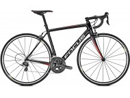 Vélo de course FOCUS Izalco Race Ultegra Noir Rouge Blanc