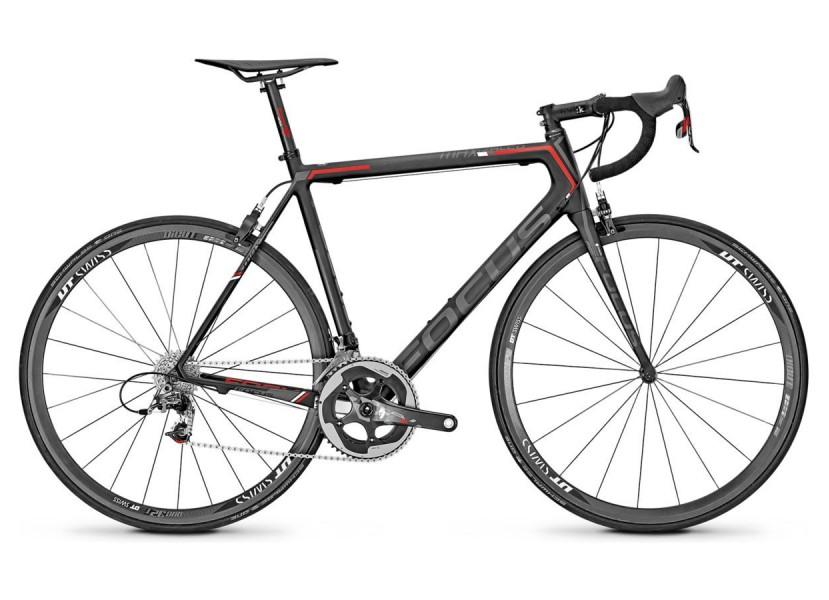 Vélo de course FOCUS Izalco Max 0.0 Noir Rouge