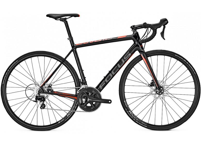 Vélo de course FOCUS Cayo Disc 105 Rouge Gris