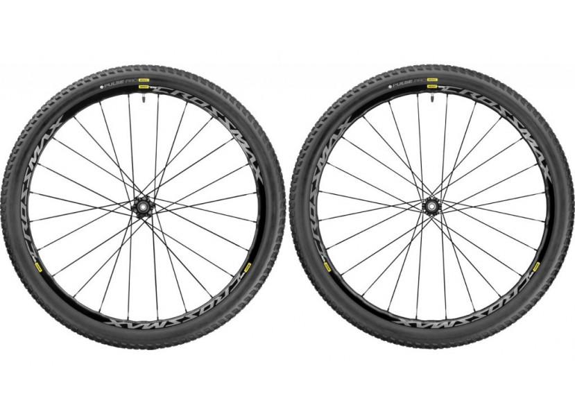 Paire de roues VTT MAVIC Crossmax Elite 27.5 WTS 2.1 Noir