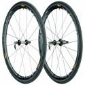 Paire de roues Route MAVIC Cosmic Carbone 40 boyau