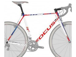 Cadre Cyclo cross Cyclo-cross FOCUS Mares CX 3.0 Blanc Bleu Rouge