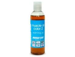 Huile préparatoire MORGAN BLUE Réchauffant Muscle Oil Color 2 200ml