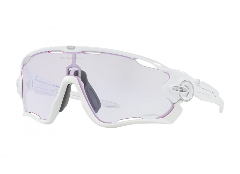 Lunettes OAKLEY Jawbreaker Pol White - Prizm Low Light